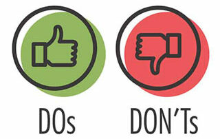 SEO teksten do's and dont's