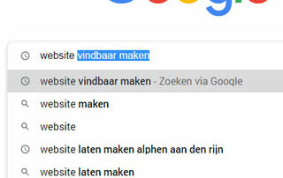 Website vindbaar maken in Google