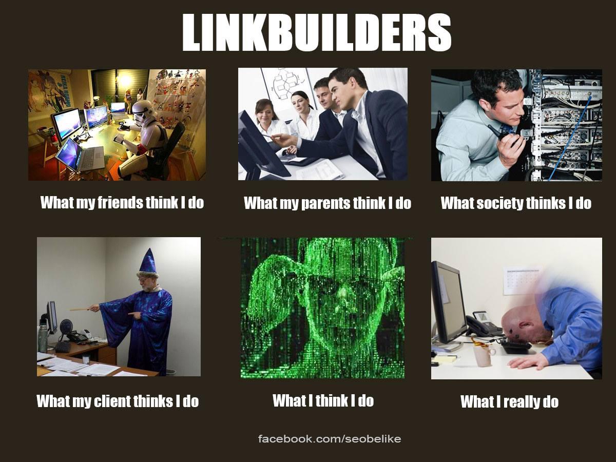 Linkbuilders - wat ik echt doe