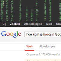 Hoe kom je hoog in Google